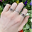 Thumbnail: Love Squared Garnet Ring
