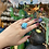 Thumbnail: Dotted Raw Turquoise Ring