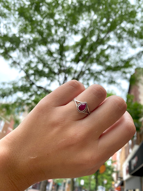 Simple Set Ruby Ring