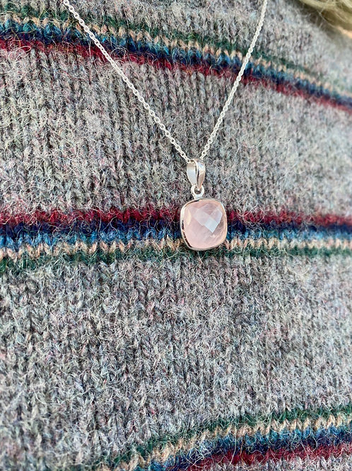 Dainty Faceted Pendants