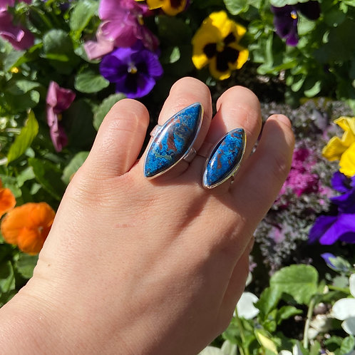 Alluring Azurite Ring