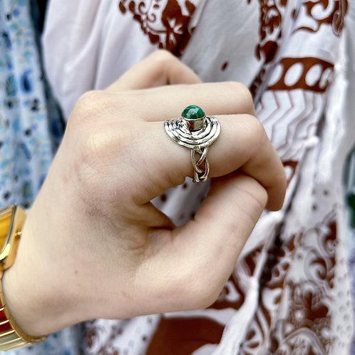 Majestic Malachite Ring