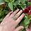 Thumbnail: Organic Stichtite Silver Ring