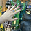 Thumbnail: Scaled Aquamarine Claw Ring