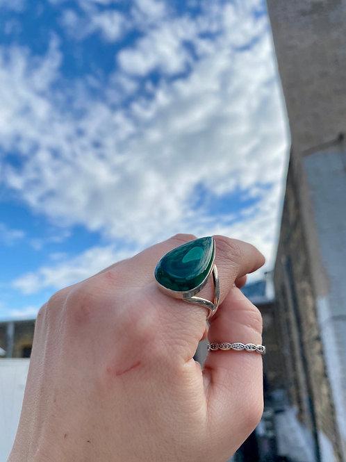 Tender Love Malachite Ring