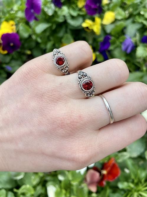 Passion Garnet Ring