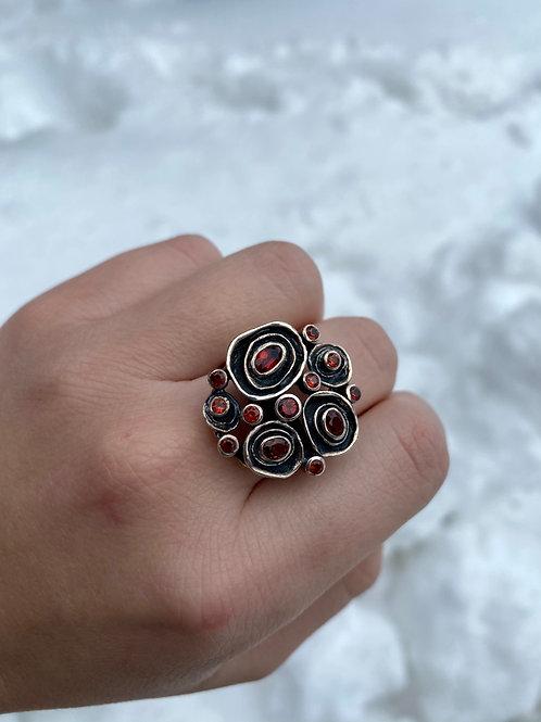 A Dozen Roses Ring