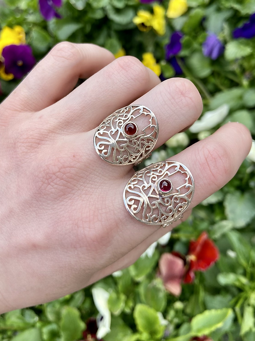 Intricate Hamsa Ring