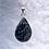 Thumbnail: Snowflake Obsidian in Teardrop or Oval Setting