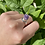 Thumbnail: Raw Amethyst Crystal Ring
