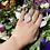 Thumbnail: Rough Plains of Rose Quartz Ring