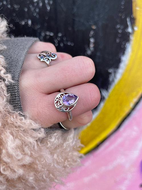 Alliance Amethyst Ring