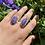 Thumbnail: Charoite Pear Shaped Ring