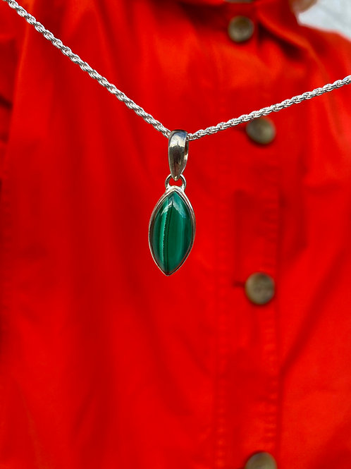 Protection Malachite Pendant