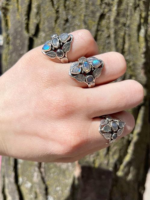 The Magic of Nature Labradorite Ring