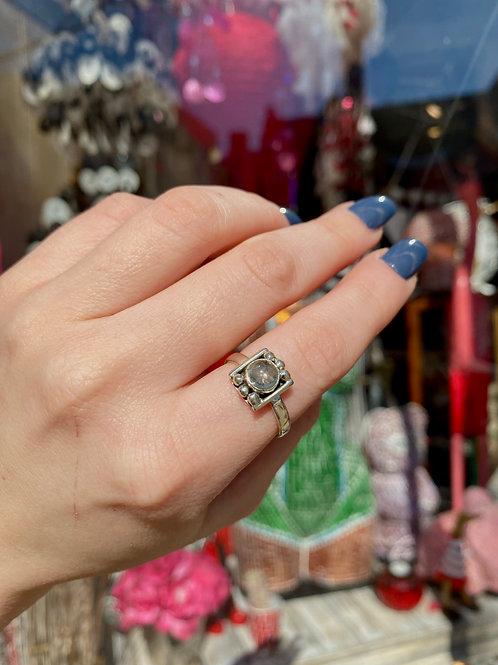 Quirky Aquamarine Ring