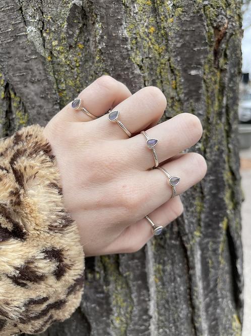 Magic Day Labradorite Ring