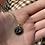Thumbnail: Pisces Aquamarine Gold Pendant