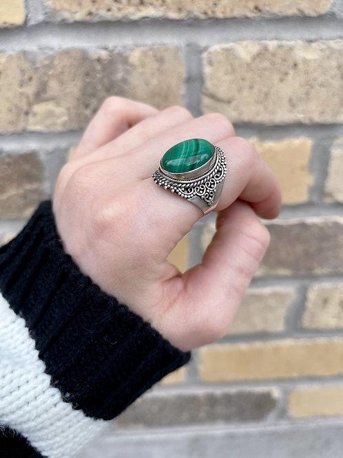 Amazed of Malachite Ring