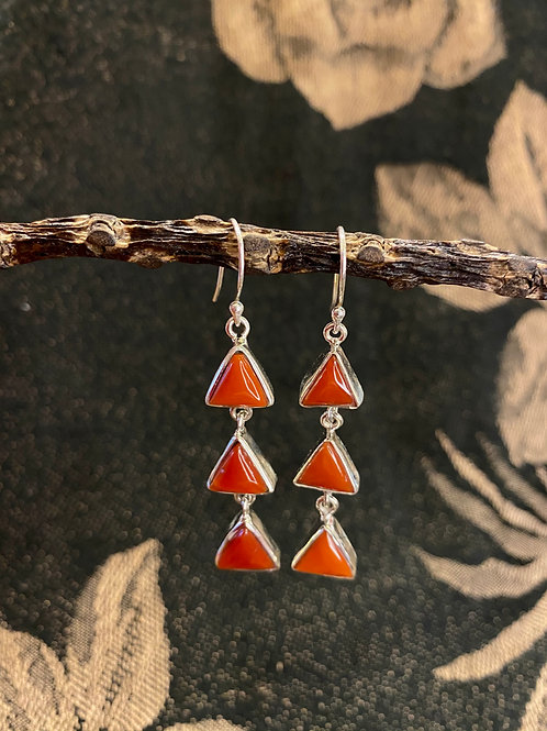 Coral Movement Earring