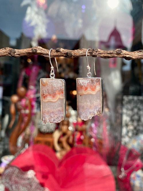 Divine Amethyst Crystal Earring