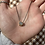 Thumbnail: Aquamarine with Raw Diamonds Gold Pendant