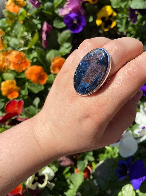 Supernatural Pietersite Ring