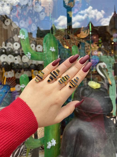 Divine Stacked Tourmaline Ring