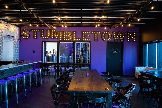 Stumbletown Distilling Interior Bar