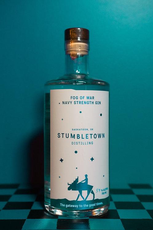 Fog of War Navy Strength Gin