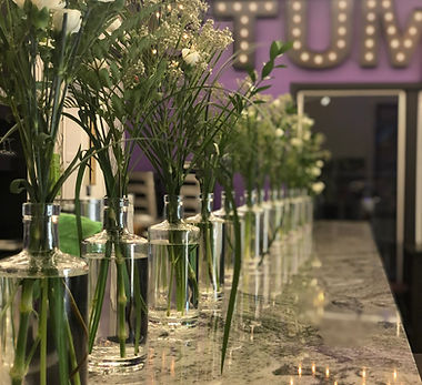 Stumbletown Distilling Wedding Decoration