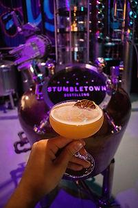 Stumbltown Distilling Gin Still Cocktail