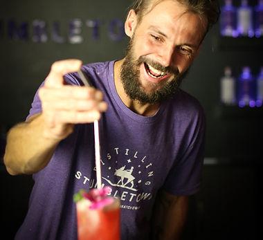 Stumbletown Distilling Event Bartender Cocktail
