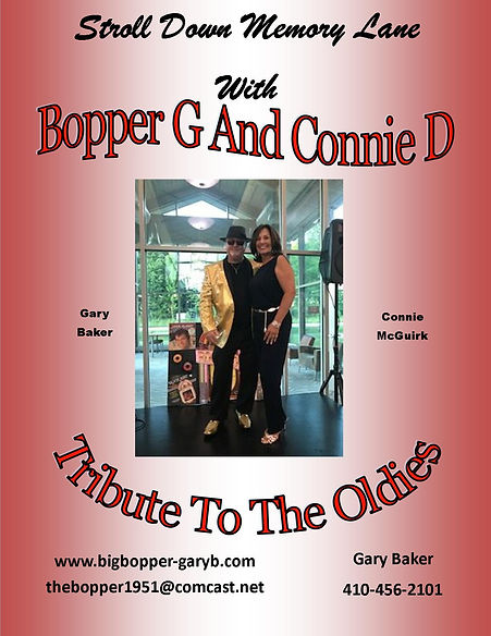 Bopper G & Connie D Tribute To The Oldie