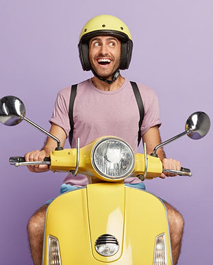 happy-male-biker-courier-drives-yellow-s