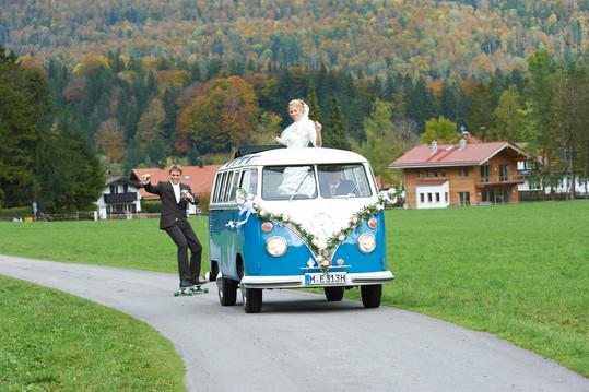 Hochzeit bei Bayrischzell