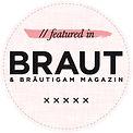 Unsere Bilder im Braumagazin Braut und Bräutigam - Ausgabe München und Deutschland 2020/2021