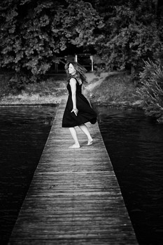 Peopleshooting am Ammersee