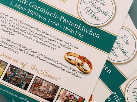 Dream Wedding - das Hochzeitsevent 01.03.2020 in der Spielbank Garmisch-Partenkirchen