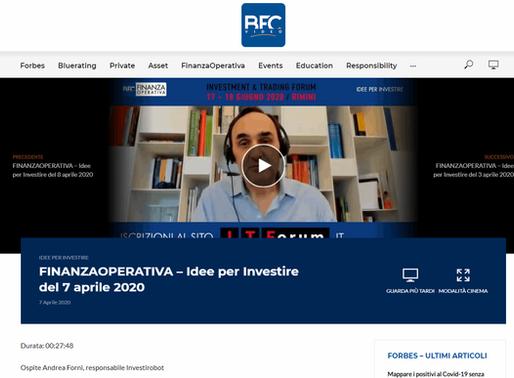 """""""Investire ai tempi del Covid-19"""" - Intervista di Andrea Forni a BFC Video"""