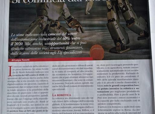 Andrea Forni interviewed by Patrimoni Magazine on Investing in Robotics