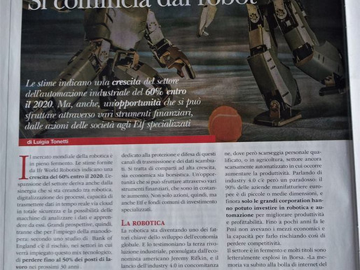Andrea Forni interviewed by Patrimoni Magazine on Investing in Robotics