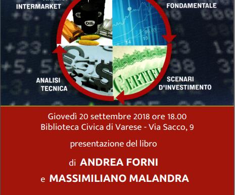 """Presentazione del libro """"La Ruota dei Mercati Finanziari"""" - Biblioteca Civica Varese - 20"""
