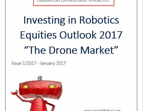 Investing in Drone Equities? Our Outlook 2017 can help you!