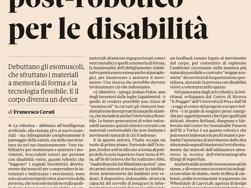 """""""Investire in robotica e AI"""" - Intervista al Sole 24Ore"""