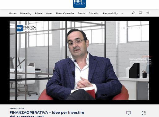 """""""Mercati finanziari e rally di Natale 2019"""" - Intervista di Andrea Forni a BFC Video"""