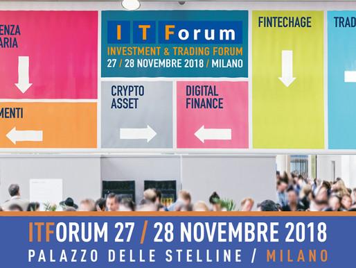 ITForum Milano 2018 - Sala piena per lo speech di Andrea Forni