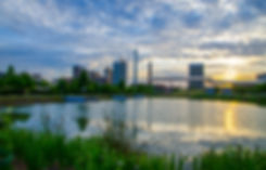 Railroad Park Sunrise Birmingham AL.jpg