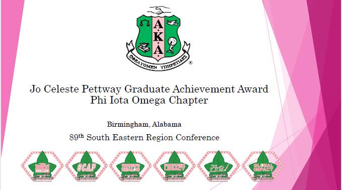 Graduate achievement Award