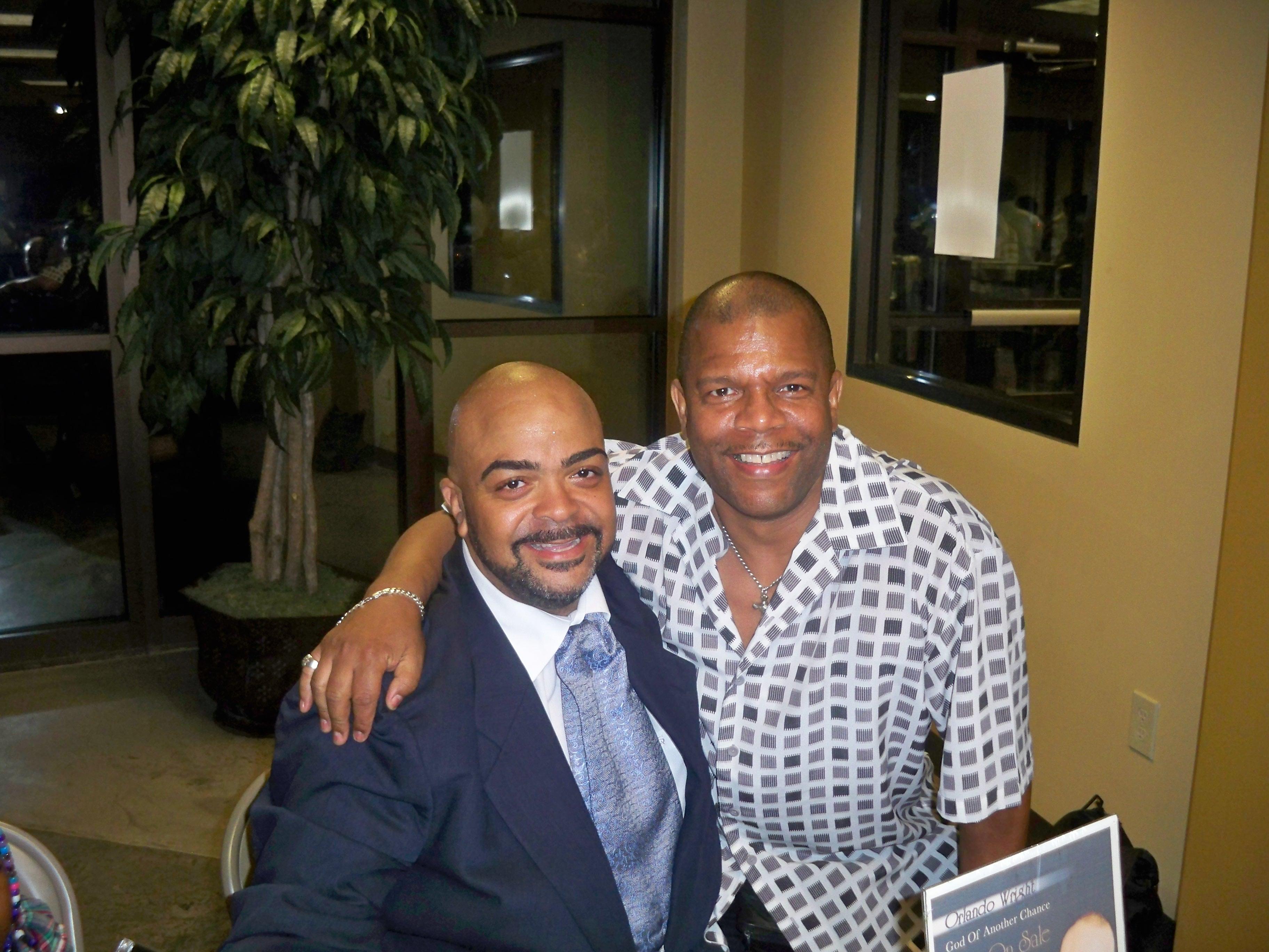 Bruce and Orlando Wright